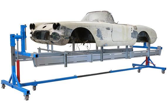 Corvette Subframe Auto Twirler